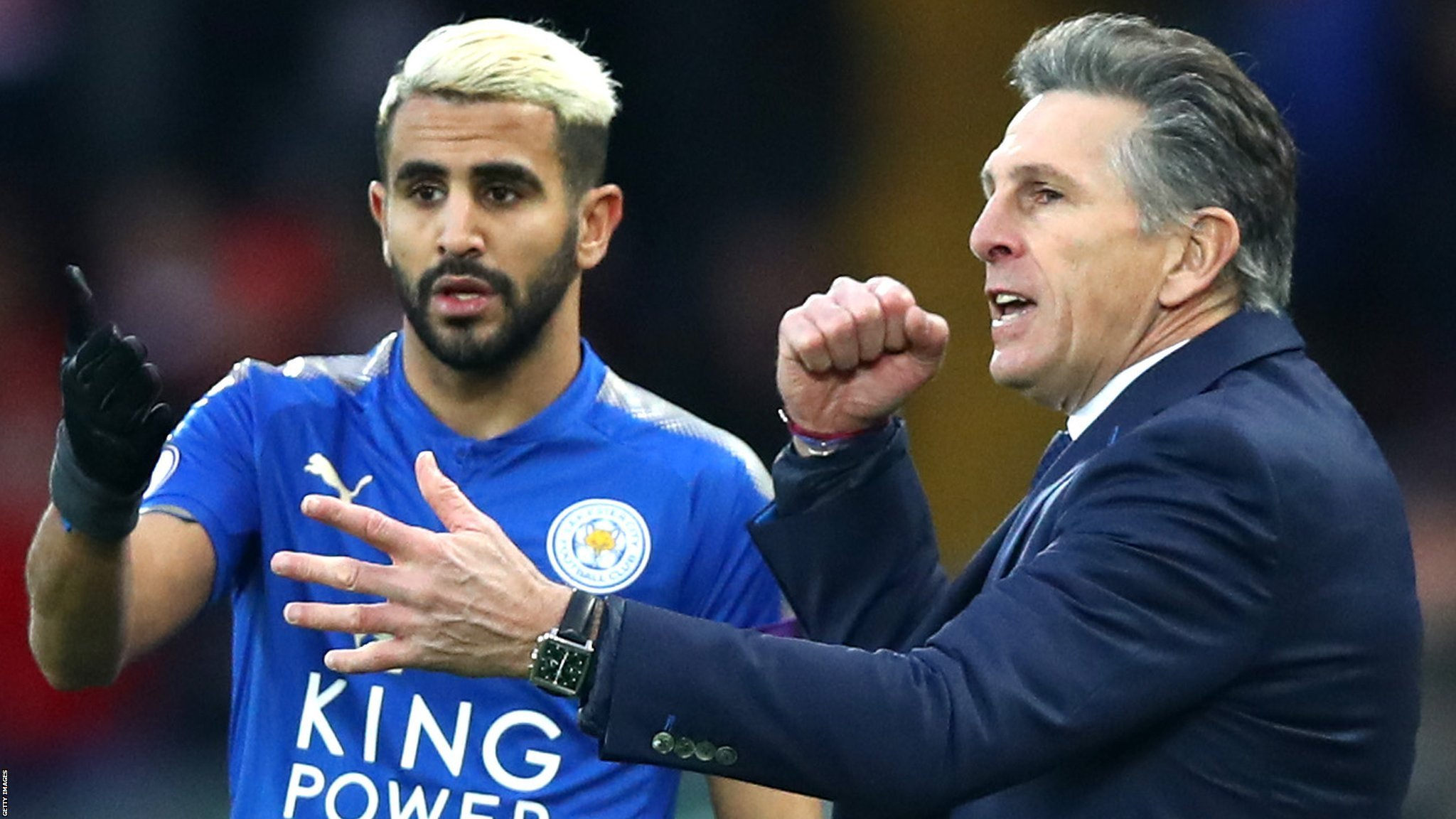 Mahrez could cost over £100m - Leicester boss Puel