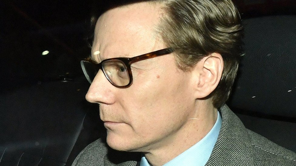 Cambridge Analytica: Facebook row firm boss suspended