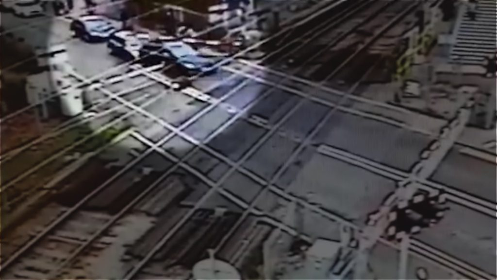 'Foolish' level crossing-hopping learner driver convicted