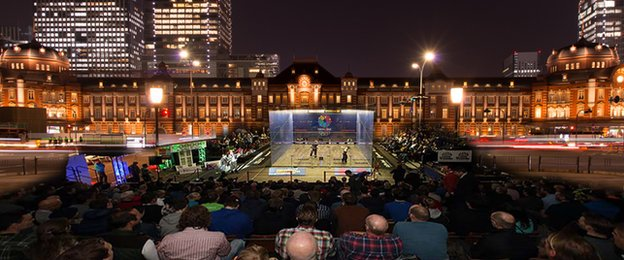 Squash chiefs say present courts an become erected outside
