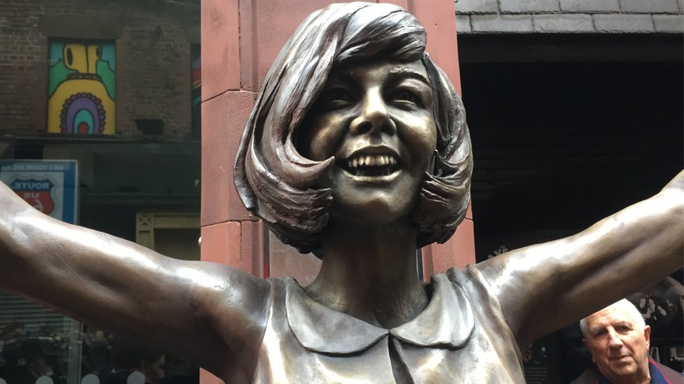Cilla statue unveiled as Cavern turns 60