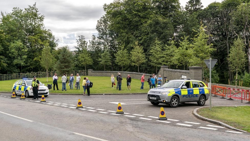 Limited edition Macallan whisky sale leads to road closure
