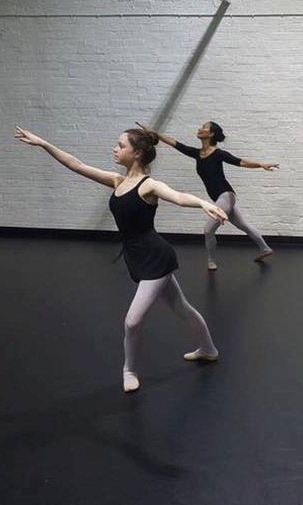 Errin Godwin Whalley bailando ballet (Foto: Errin Godwin Whalley)