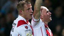 Luke Walsh celebrates