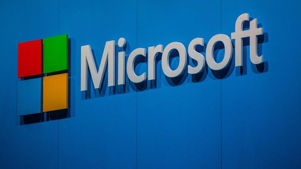 شعار شركة مايكروسوفت