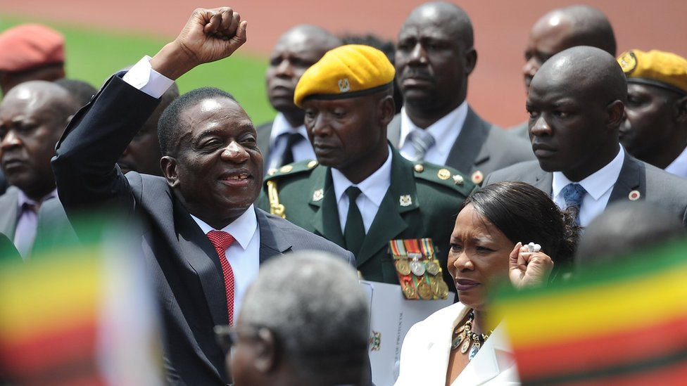 Zimbabwe's Mnangagwa takes power and vows to serve all citizens