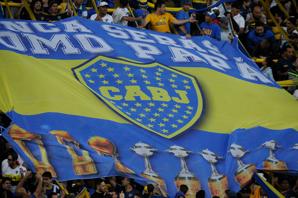 Aficionados de Boca Juniors
