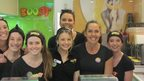 janine allis with her staff at Boost juice bar