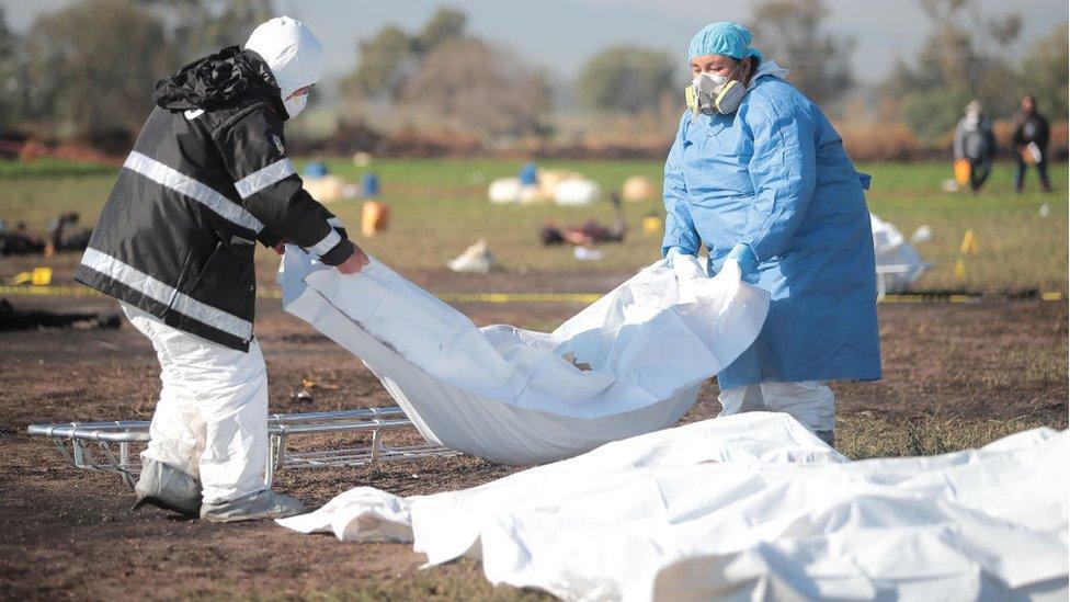 Explosión en Hidalgo: qué se sabe de las víctimas de la mayor tragedia por robo ...