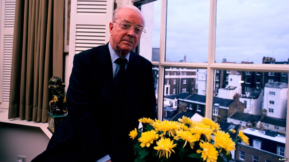 Eric Ambler, pictured in 1985