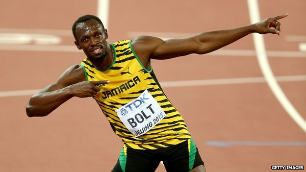 CBBC Newsround - World Athletics Championships: Usain Bolt ...
