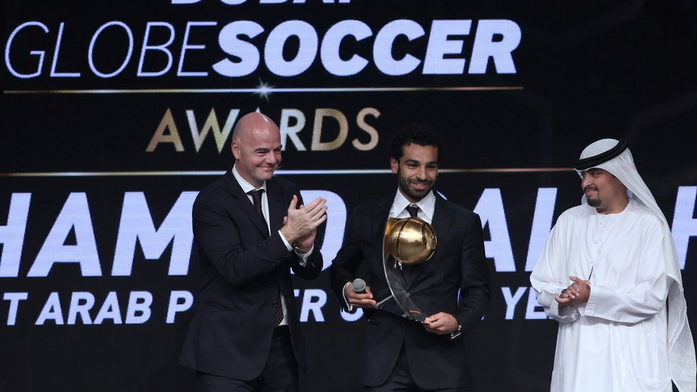 المصري محمد صلاح أفضل لاعب عربي لعام 2016