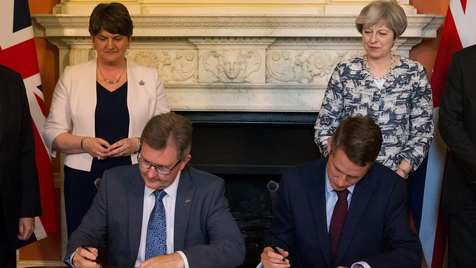Has Theresa May's Brexit strategy left the DUP in the lurch?