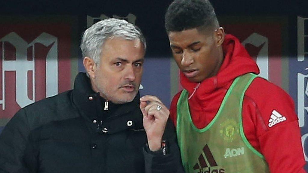 Jose Mourinho: 'Man Utd striker Marcus Rashford should not go to U21 Euros'