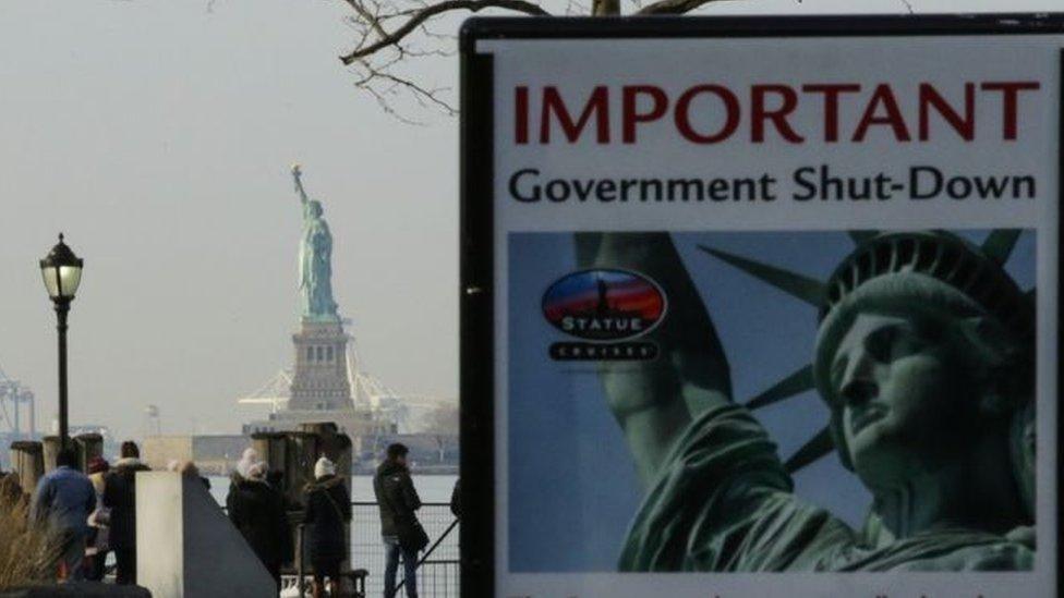 إغلاق حكومي يعصف بالمؤسسات الأمريكية