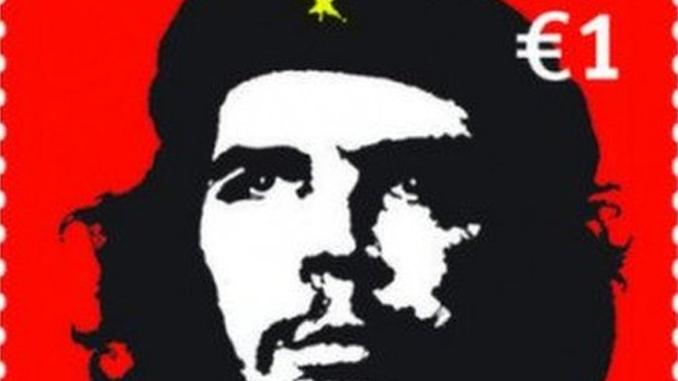 Irish Che Guevara stamp prompts protest