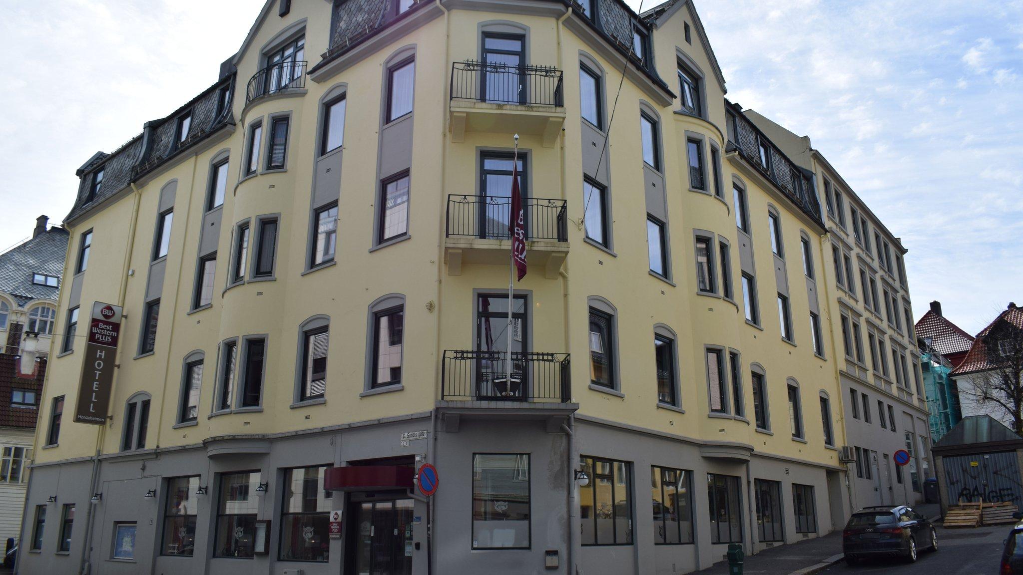 Vista actual del Hotel Hordaheimen