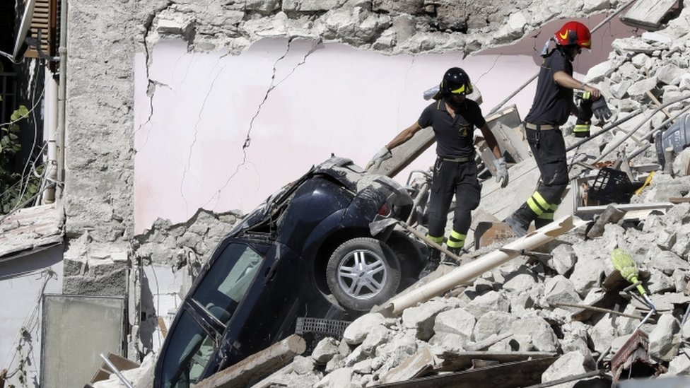 Italy earthquake: Death toll reaches 247 amid rescue efforts