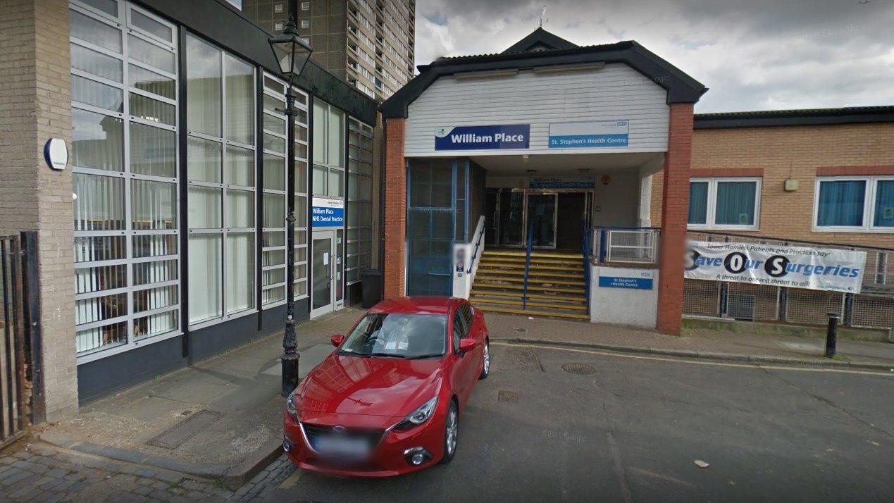 Three stabbed at London health centre
