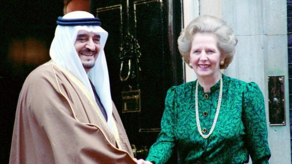 Margaret Thatcher held secret Saudi arms talks, archives show