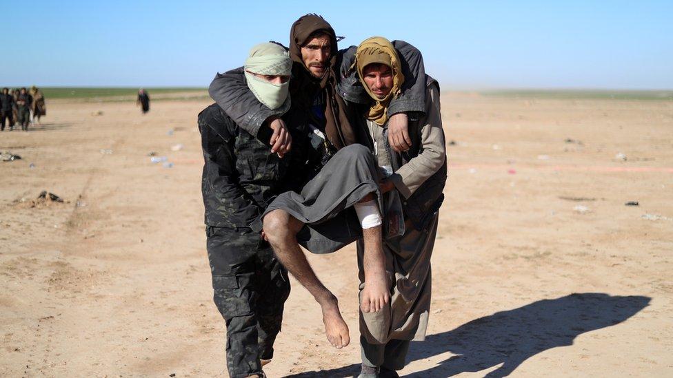 په سوریه کې د داعش وروستی کلی محاصره شوی