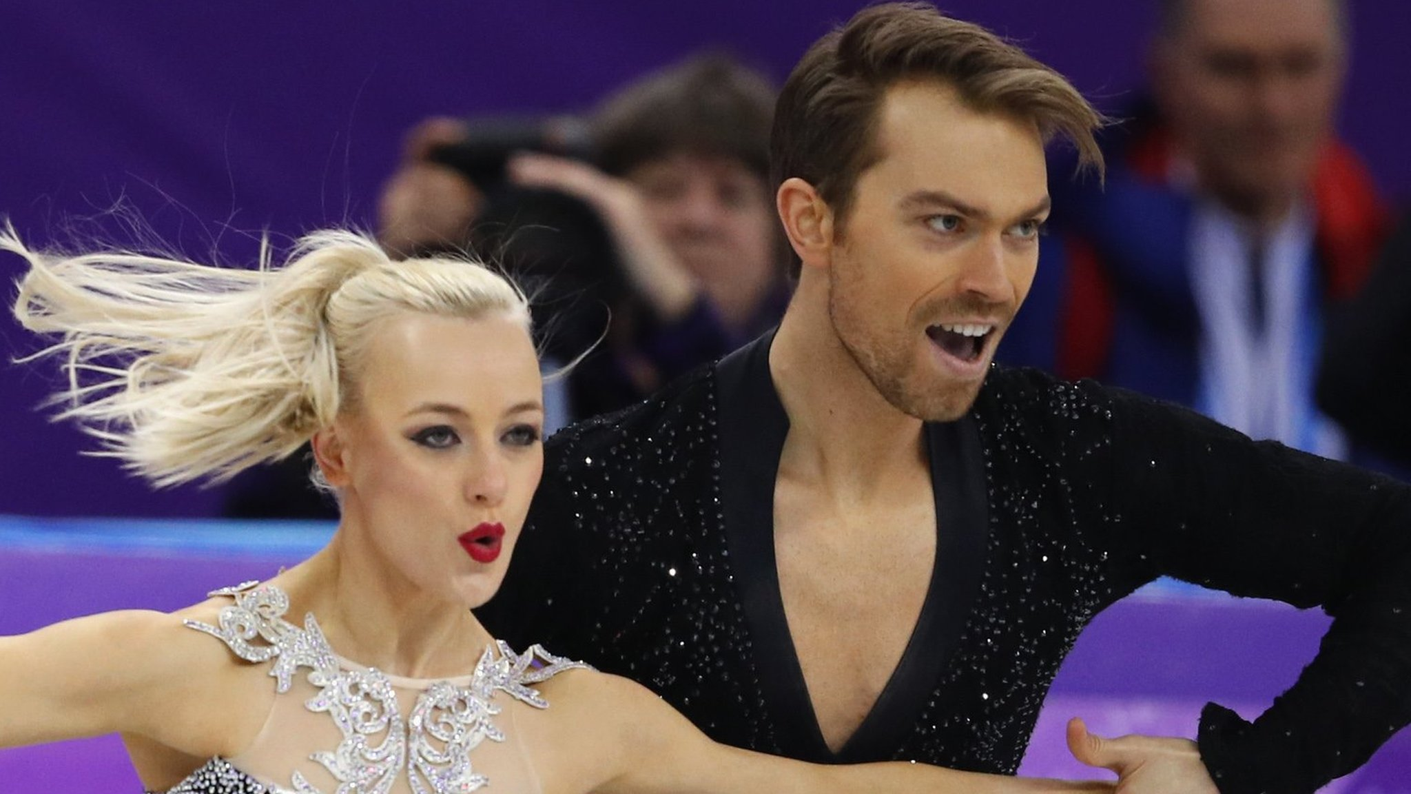 Winter Olympics: Great Britain's Penny Coomes and Nick Buckland advance in ice dance