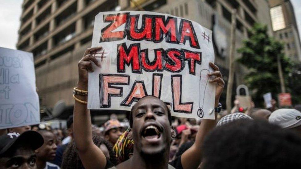 استقالة زوما