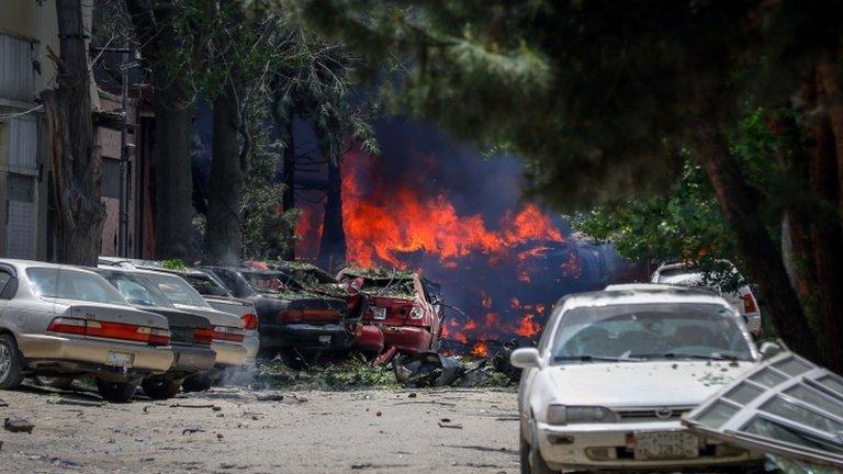 کابل کې پر بهرنۍ مؤسسې د طالبانو برید پای ته رسېدلی