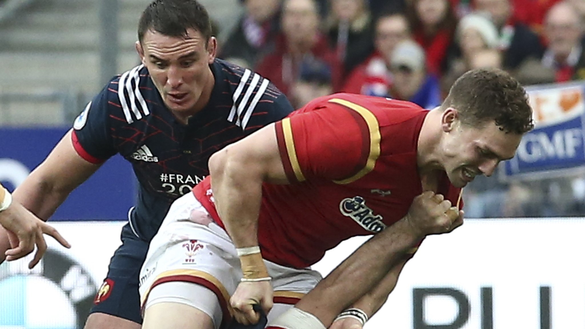 George North: Wales wing 'disappointed' at no action over alleged bite