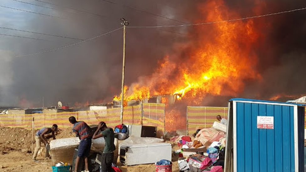 Mob kills suspected arsonist in South Africa