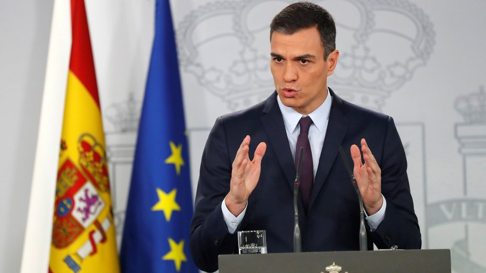 Spanish PM sets snap election for April