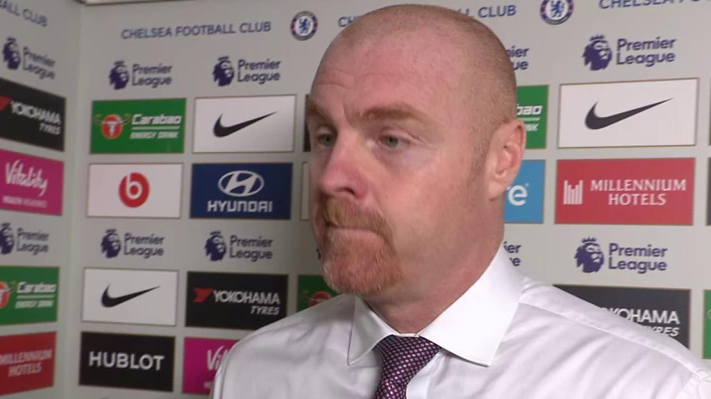 Chelsea 2-2 Burnley: Dyche denies time-wasting tactics