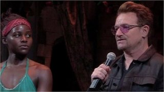 Bono joins missing girls campaign