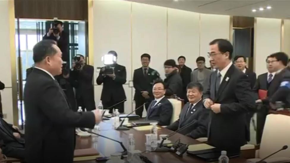 الكوريتان تعقدان محادثات عسكرية لنزع فتيل التوتر الحدودي