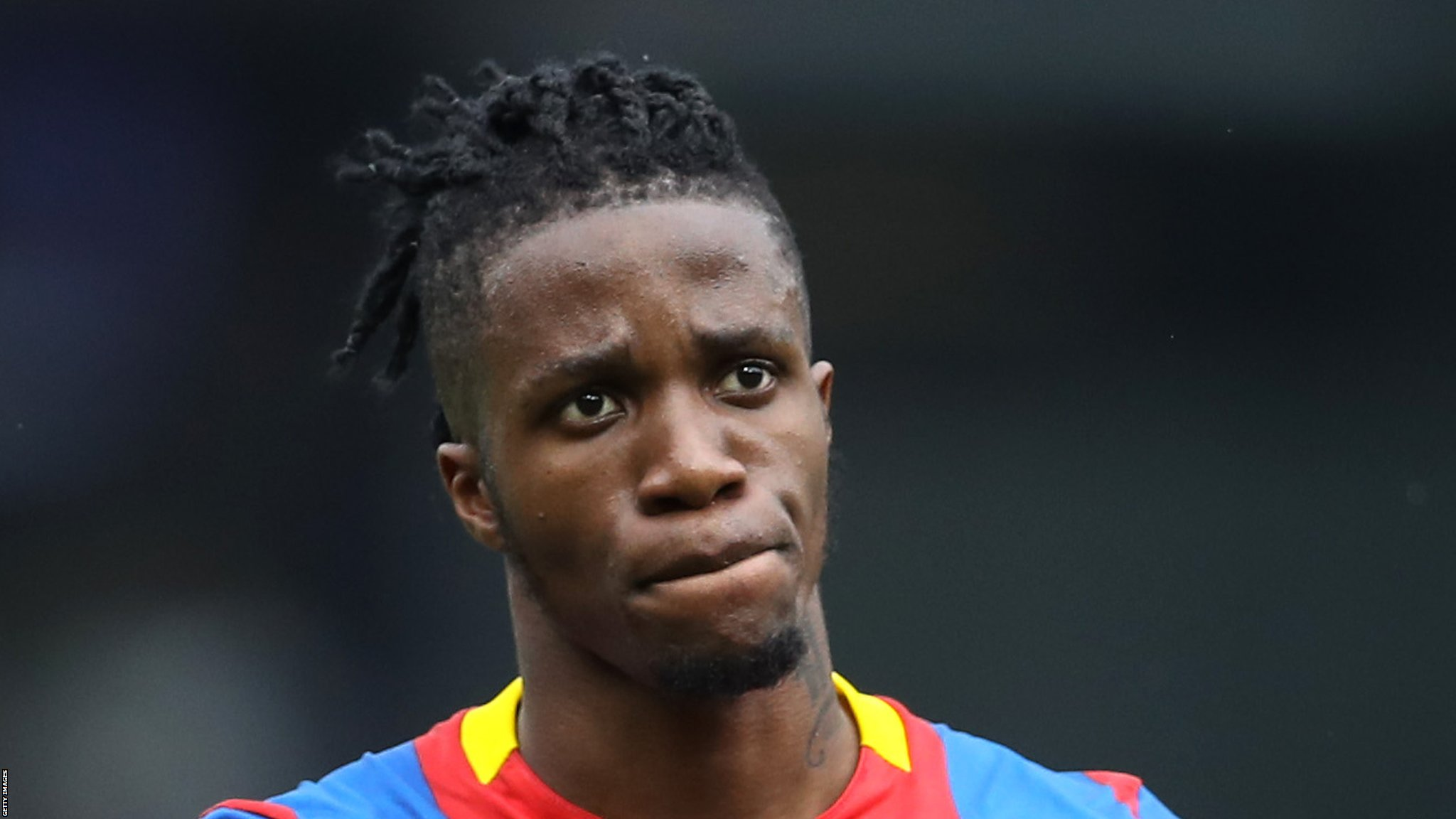 Wilfried Zaha: There is an agenda against me, says Crystal Palace winger | BBC