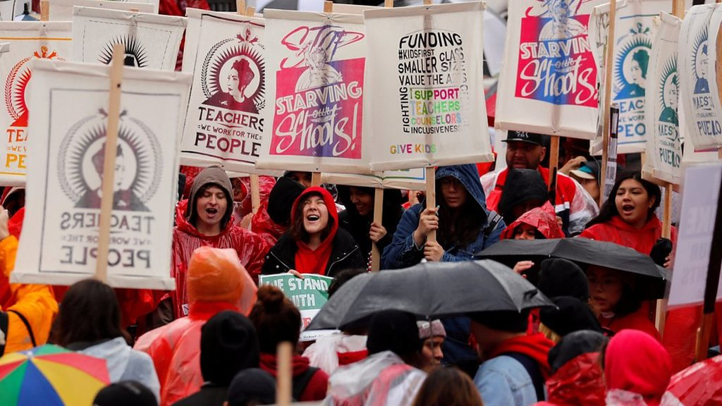 Why thousands of Los Angeles teachers are striking