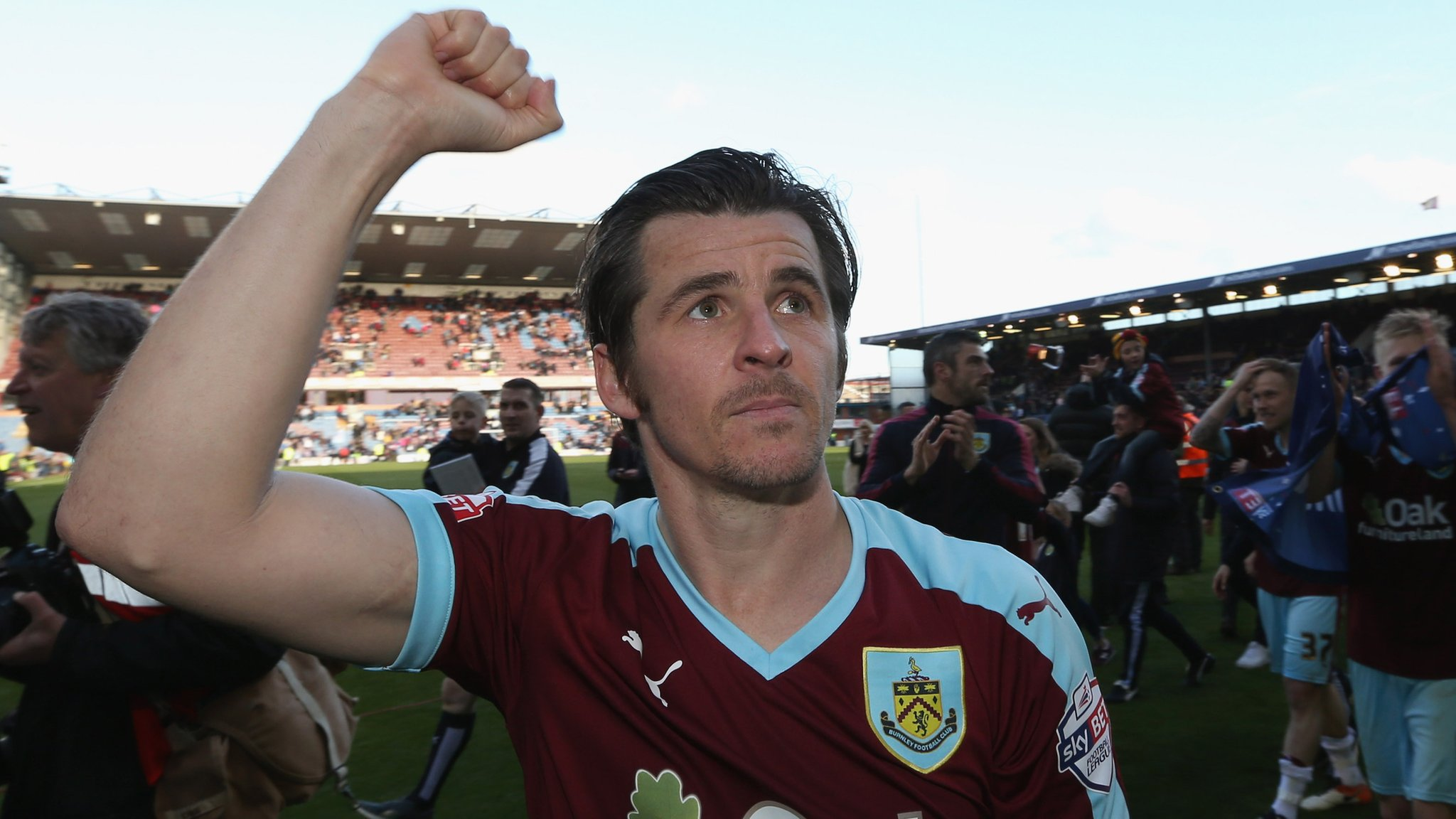 Joey Barton: Fleetwood Town announce ex-Burnley midfielder as head coach