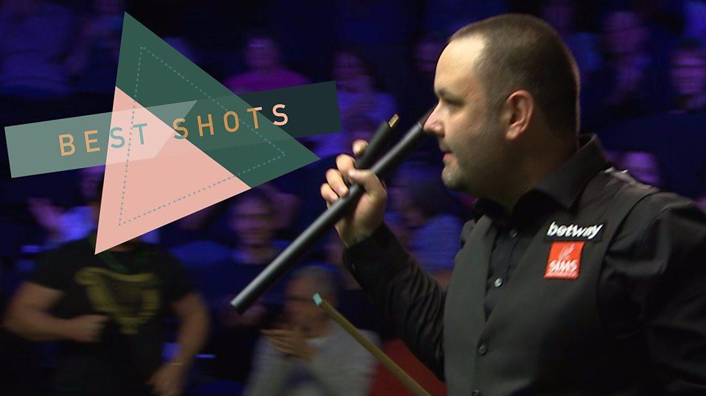 UK Snooker Championship 2018: Stephen Maguire beats Mark Williams - best shots