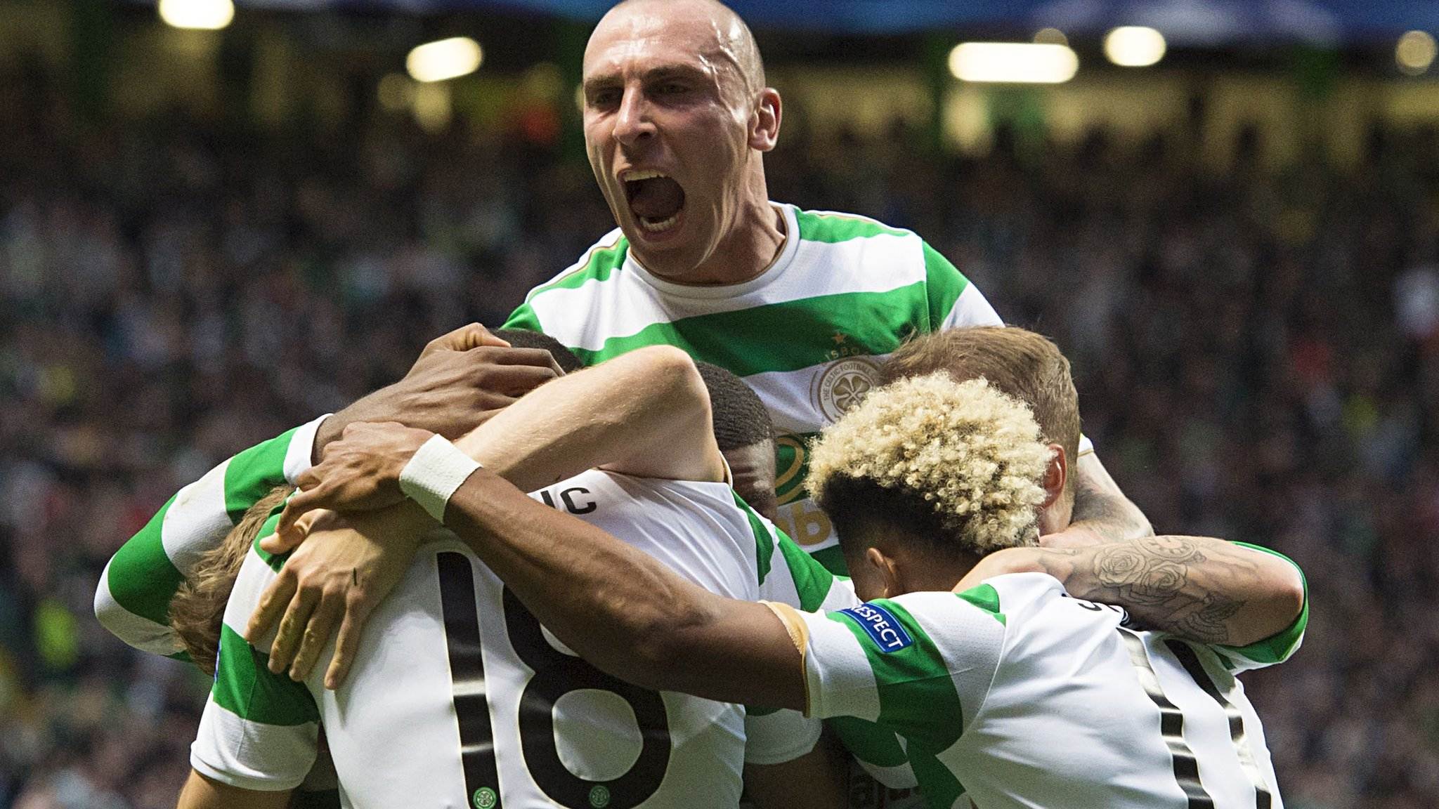 Celtic thrash Astana in Champions League play-off first leg