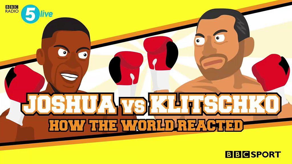 Anthony Joshua beats Wladimir Klitschko - best 5 live commentary moments memes & reaction