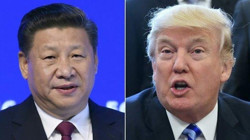Presiden Cina Xi Jinping telah mendesak Presiden AS Donald Trump