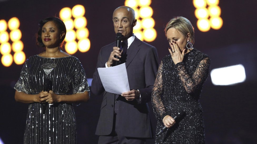Brit Awards 2017: Wham! stars pay emotional tribute to George Michael