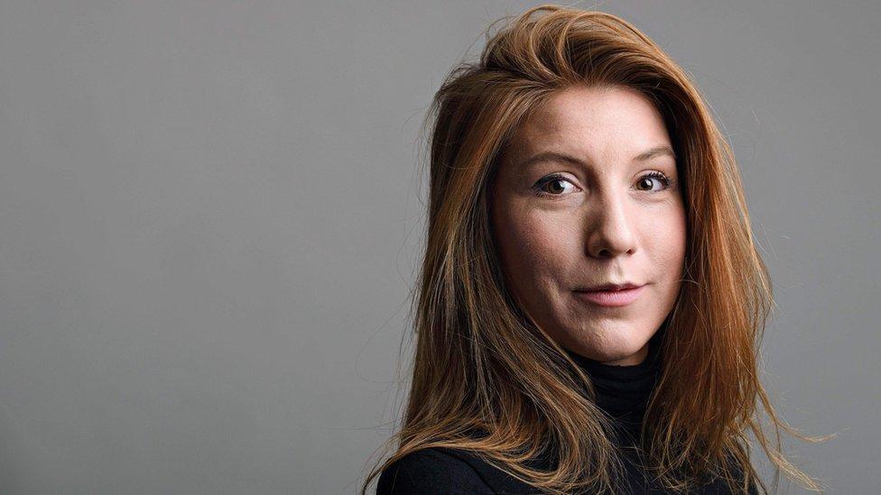 La periodista Kim Wall.