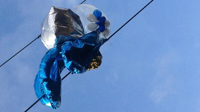 Helium balloons 'cause increasing number of train delays'