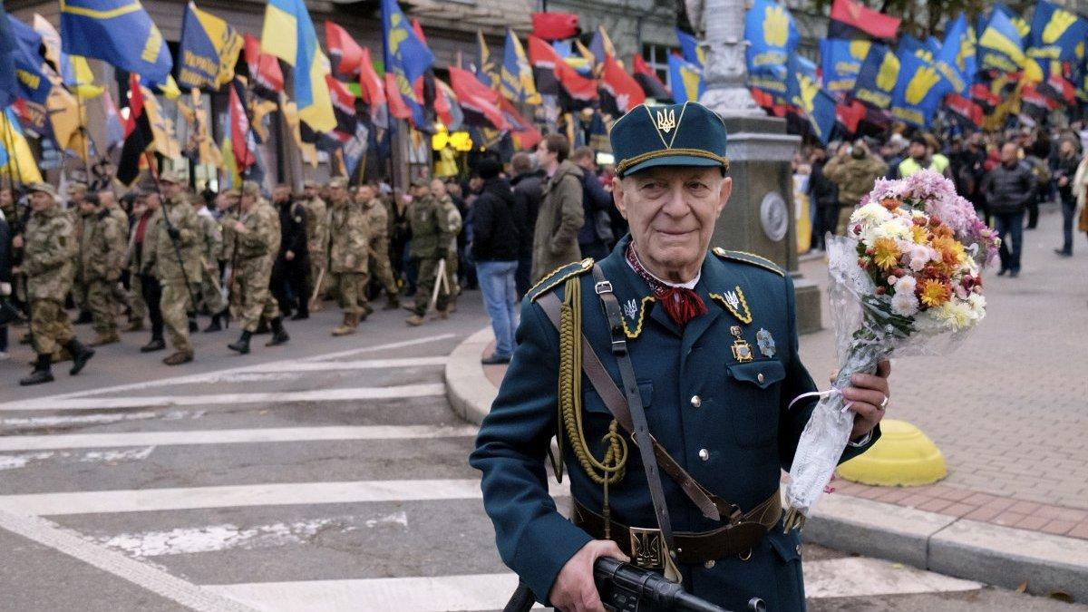 У фото: марш до 75-ї річниці УПА
