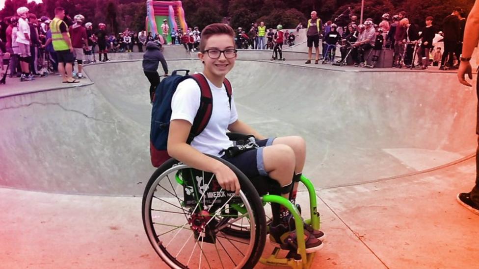 Wheelchair backflipping teen among BBC R1 award winners