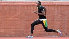 Usain Bolt running