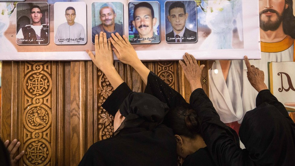 Egypt sentences 17 to death for Coptic Christian church attacks