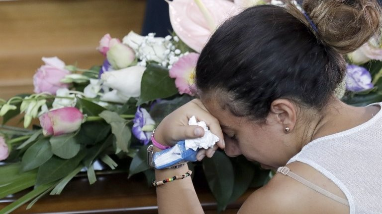 Italy earthquake: Mass funeral for 35 victims