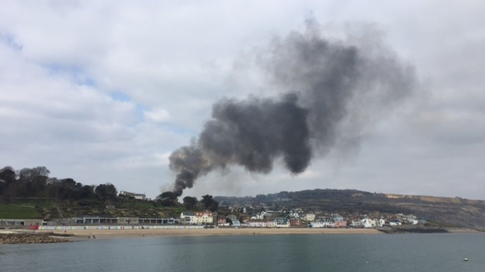 Lyme Regis cinema fire